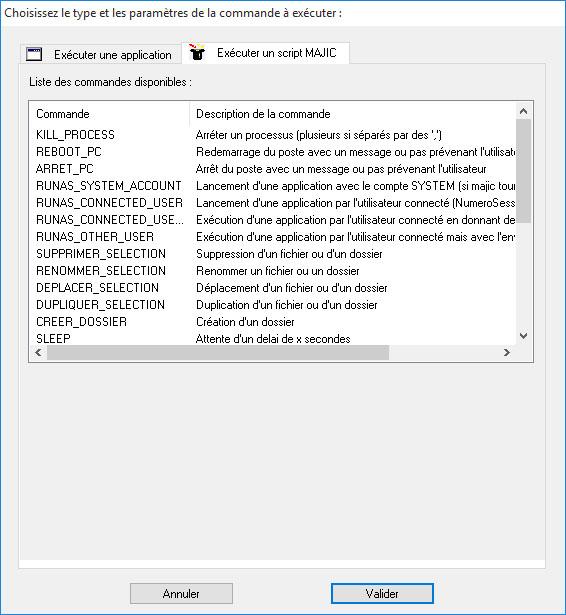 Execution de scripts et commandes a distance dans le CRON-04