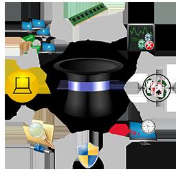 Majic : Administration à distance : Deploiement de logiciels et correctifs : helpdesk : teledistribution
